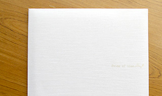六つ切り2カット【2つ折り台紙付き】の画像