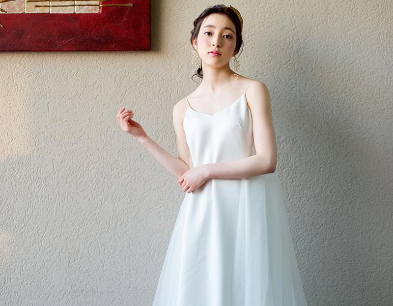 二次会ドレスの画像