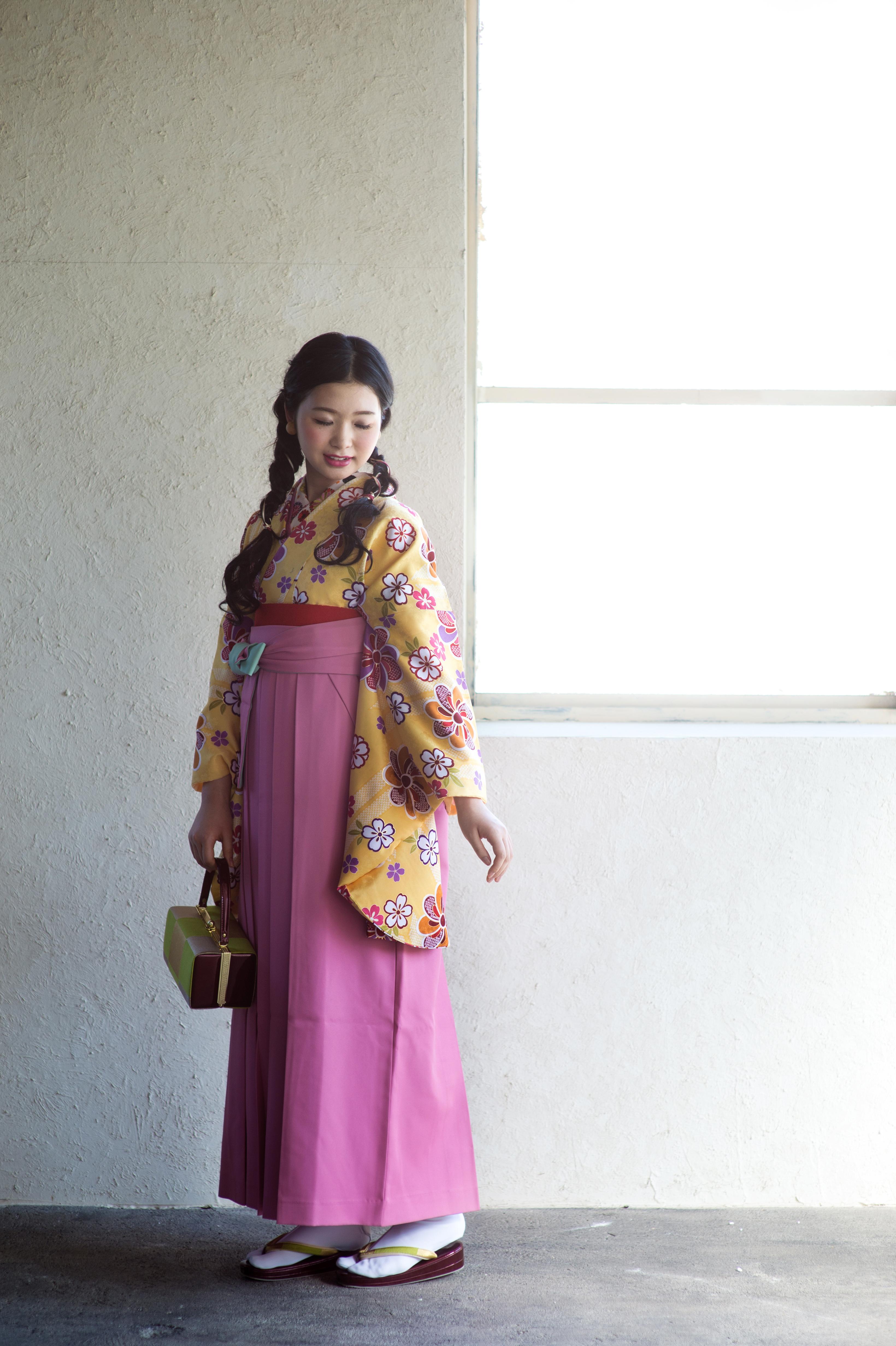 卒業式は自分スタイルの袴で